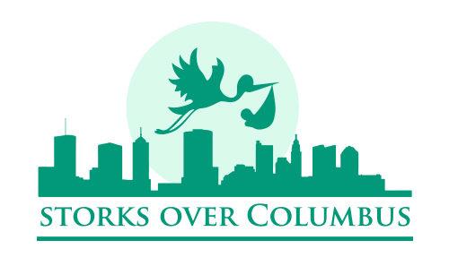 Storks Over Columbus Logo